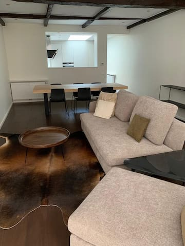 Superior furnished house in Ghent centre