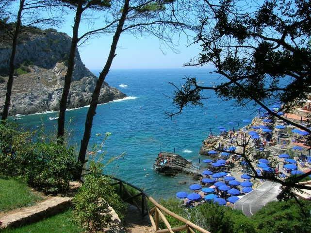 Luxury villa by the sea in Cala Piccola-Argentario