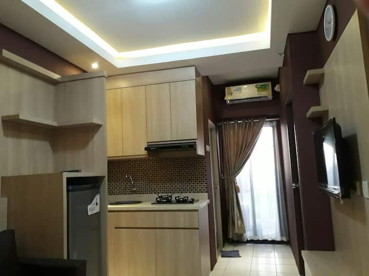 2BR cozy Apartment Kemang with beautiful city view