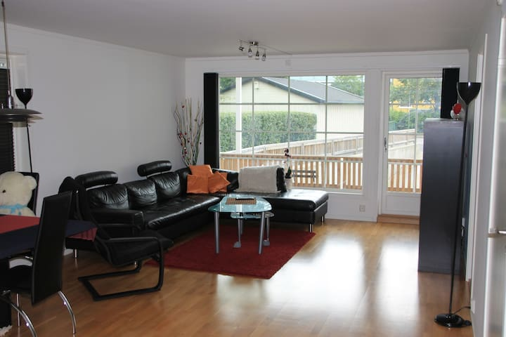 Quiet, cozy,centrally located, single private room - Drammen - Appartement