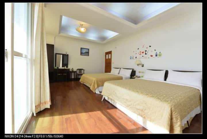 Penghu 7 Homestay Quadriple room