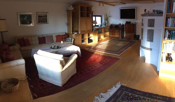 Penthouse-Wohnung mit Hotelanschluss, 2-5 Personen