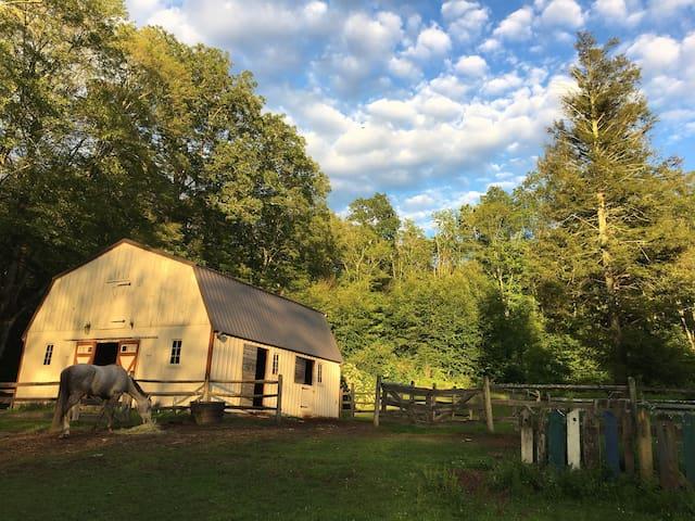 TwinPines Barn/wedding venue/group campsite/rustic