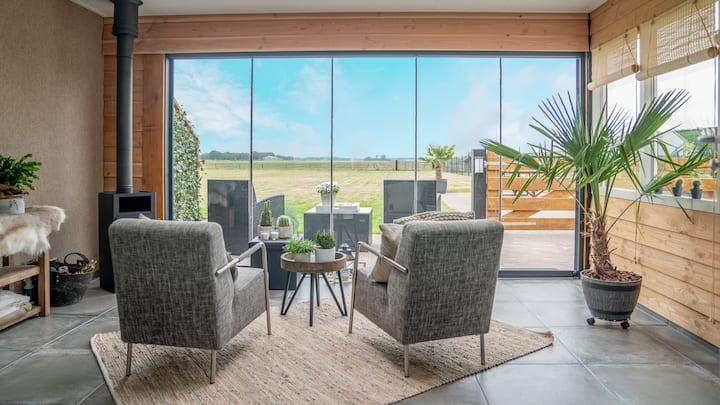 B&B Hertenhoef, 2 gast suites met tuinkamer/kachel