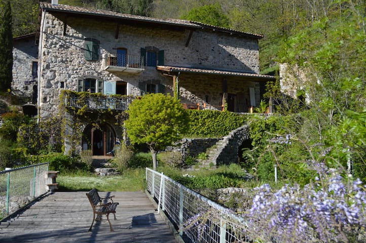 Charming old traditional Ardèche house - Montpezat-sous-Bauzon