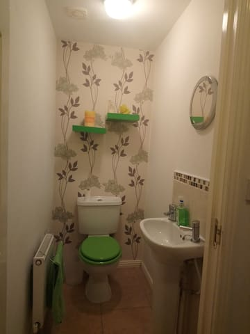 Shared ground floor toilet