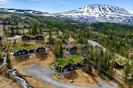 Ski in/ski out/hiking/fishing cabin at Rjukan - Tinn - Casa