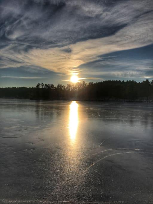 Silver Lake Sun