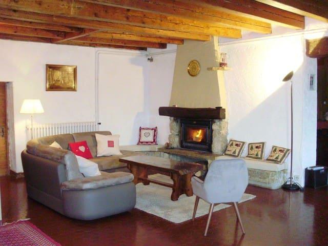 Maison chaleureuse,en  pleine nature - Les Rousses - Vakantiewoning