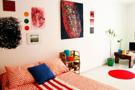 Lovely art flat in the city center - Málaga