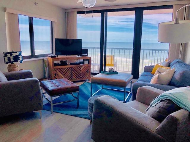 Ocean front condo with a million dollar view