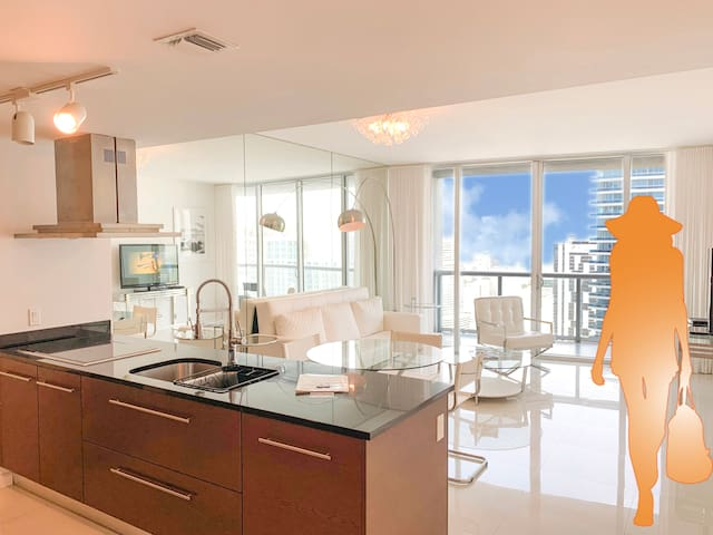 Gorgeous 1-Bedroom Apartment at ICON Brickell
