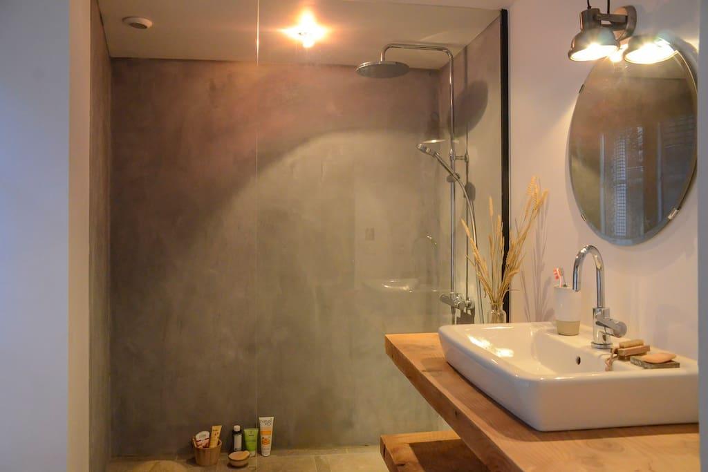 Salle de bain attenante ch.n°1