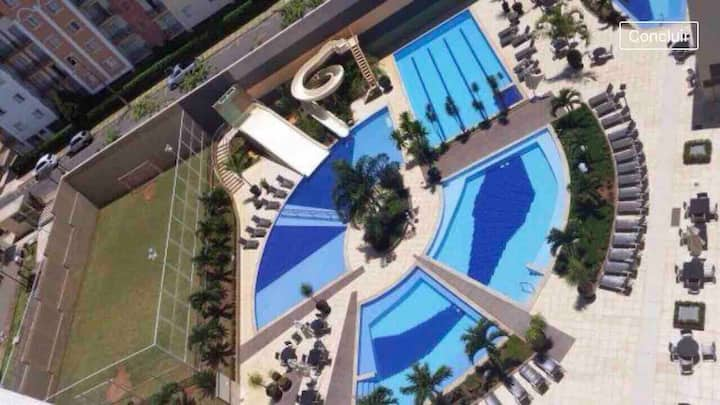 Flat Veredas do Rio Quente . Próximo Hot Park -921