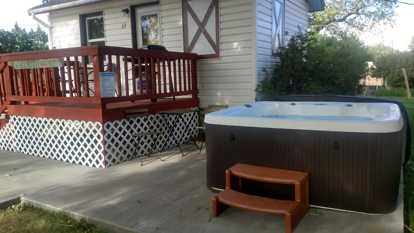 Hot Tub, Kokopelli Kabyn, Cute and Cozy!