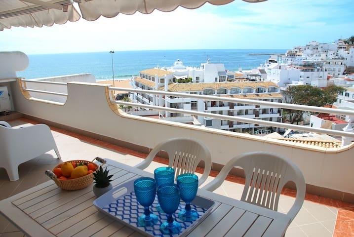 Ocean View Beach Apartment-Old Town - Albufeira - Pis