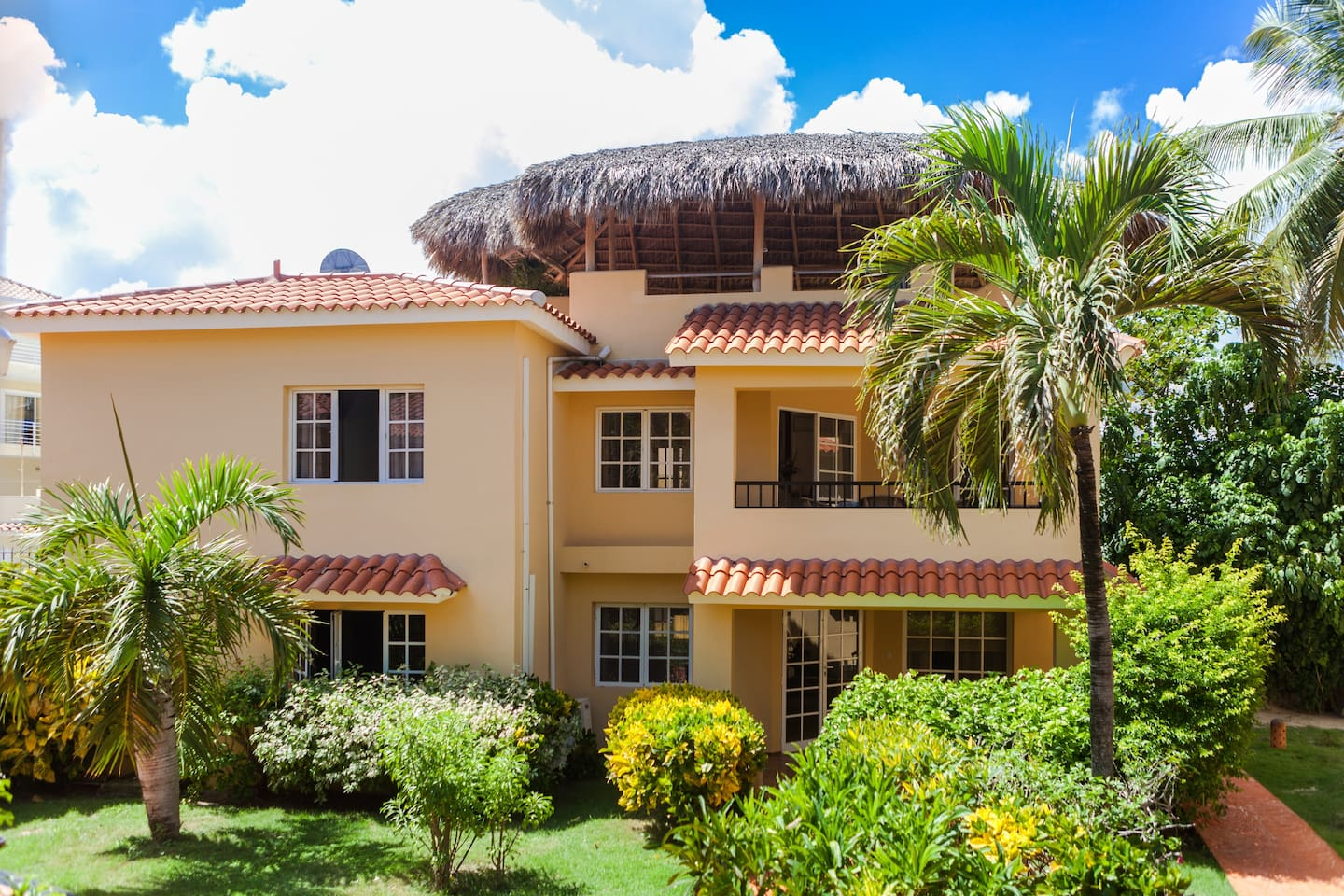 Feel safe and private in this amazing gated community.