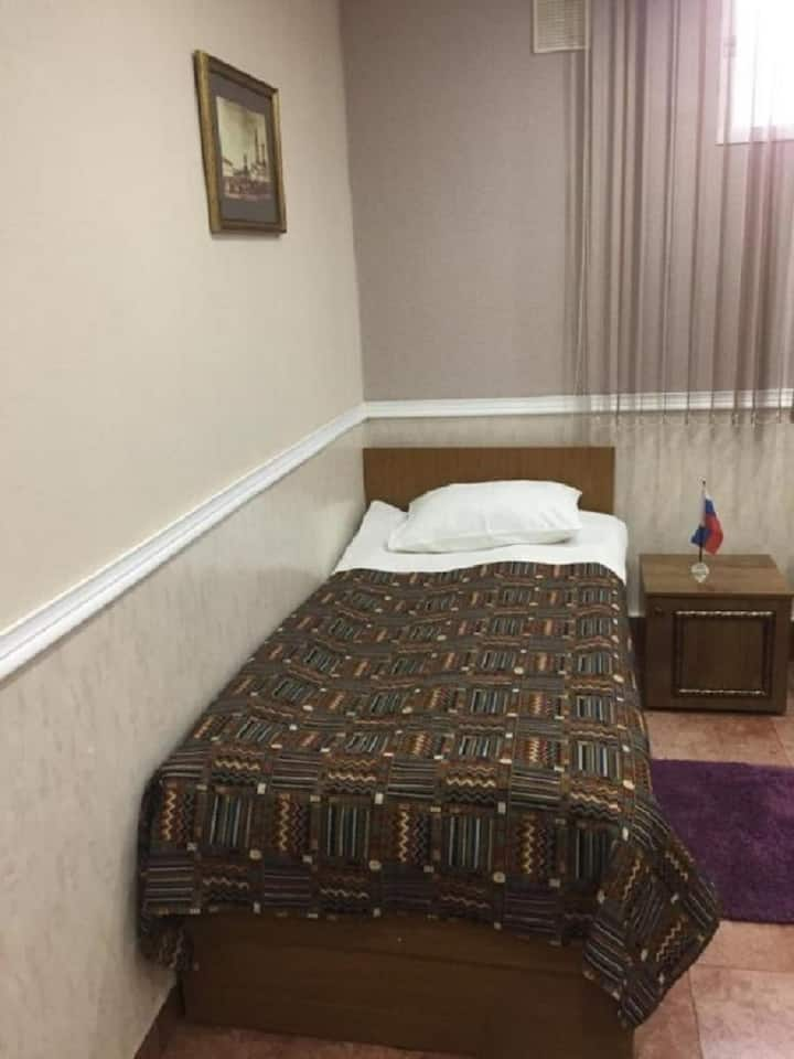 Бюджетный номер с раздельными кроватями, отель Гончаровъ