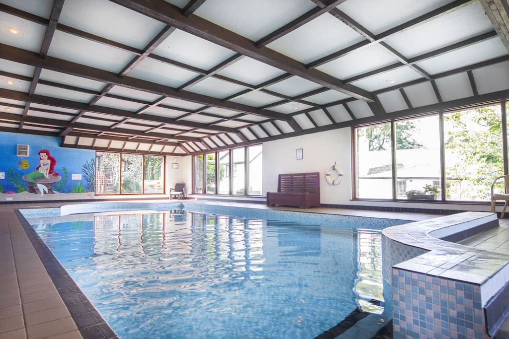 Our 33ft indoor pool