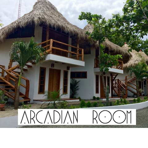 CASITAS PACIFIC | ARCADIAN ROOM IN PLAYA GUASACATE - Popoyo - Bed & Breakfast