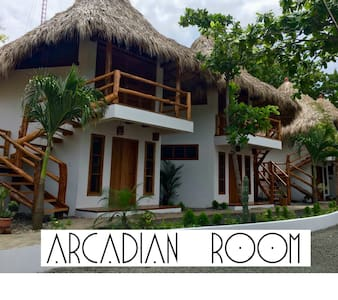 CASITAS PACIFIC | ARCADIAN ROOM IN PLAYA GUASACATE - Popoyo