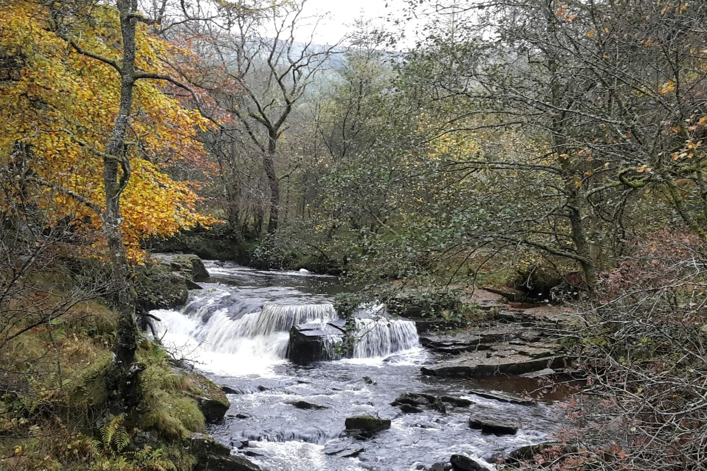 Close to the Brecon beacons national park