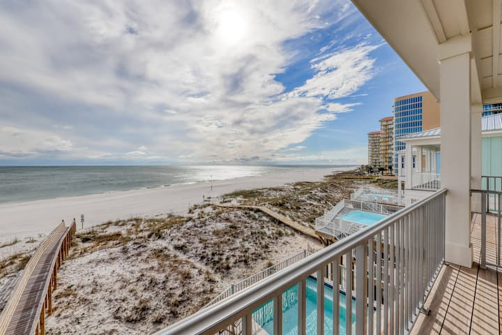 Elegant Beachfront Home W Private Plunge Pool Steps From The Sand Houses For Rent In Orange Beach Alabama United States