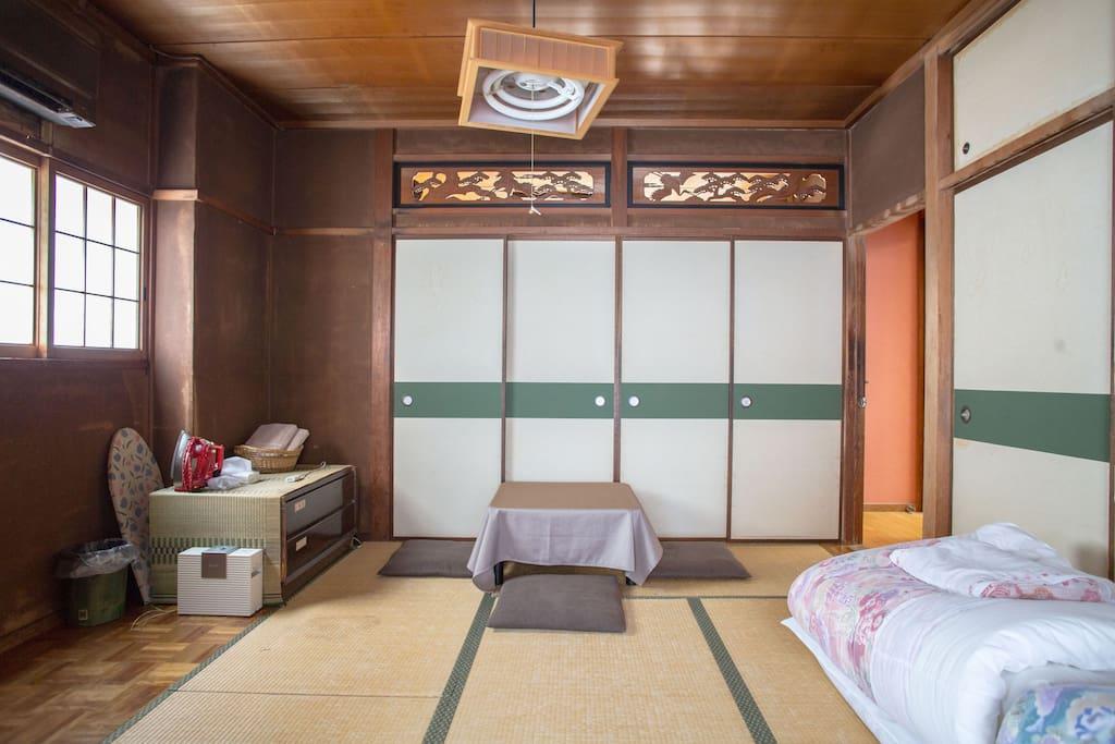 Traditional Japanese TATAMI Room