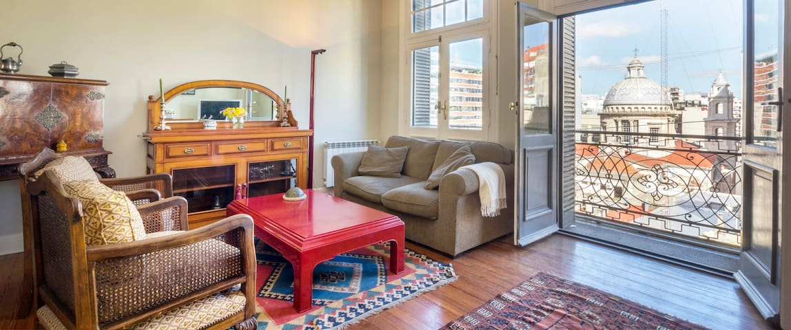 Classy 2BR in historic building - Buenos Aires - Pis