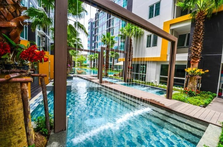 S9 condominium /1 Bedroom near Bangrakyai Station - Nonthaburi - Appartement