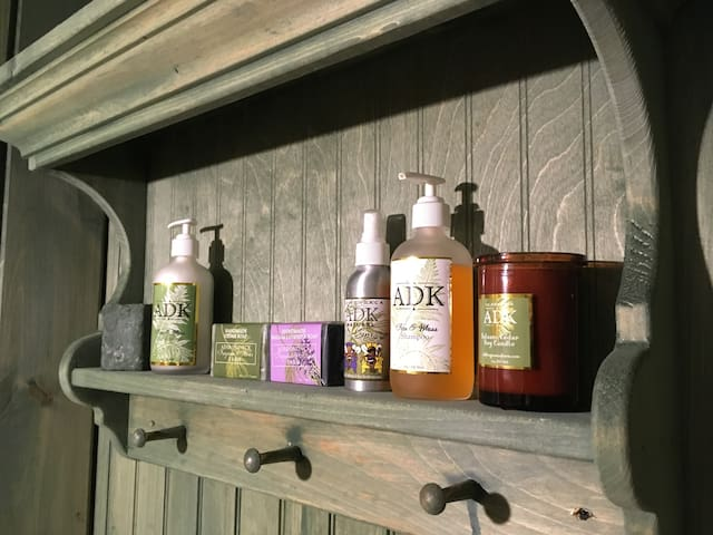 experience wonderful ADK Fragrance Farm bath products