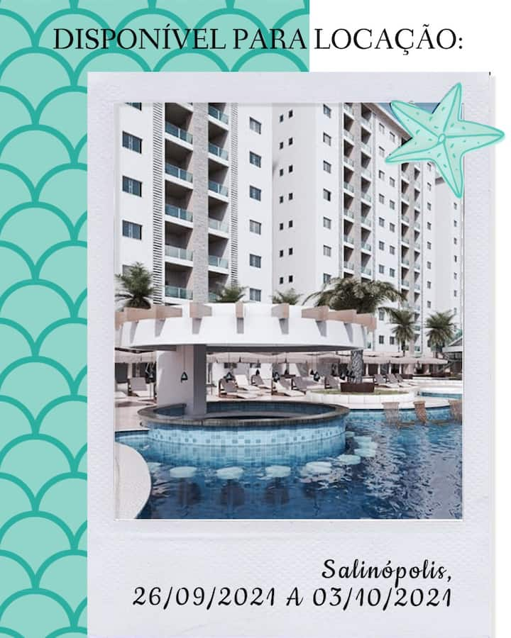 Diárias em resort luxuoso - Salinas Park Resort