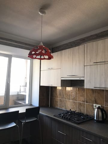 Soft and comfortable apartment in the city center.