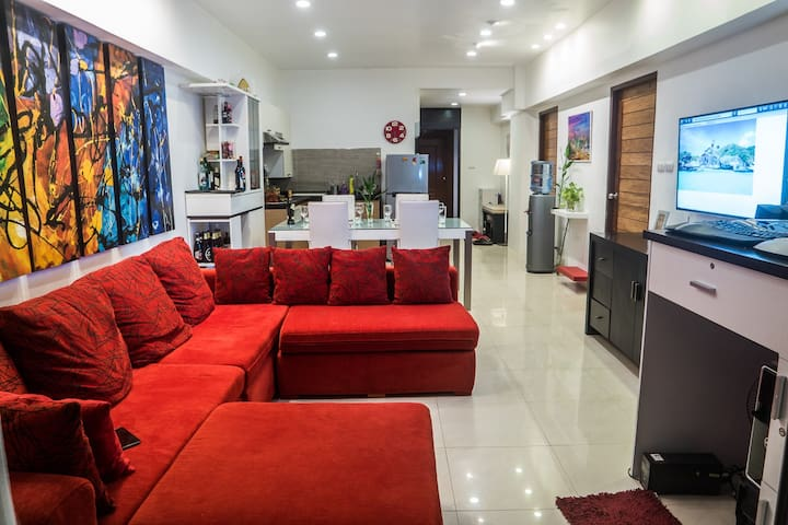 2Bed/2Bath, 26th floor, bright,WIFI - Banguecoque - Condomínio