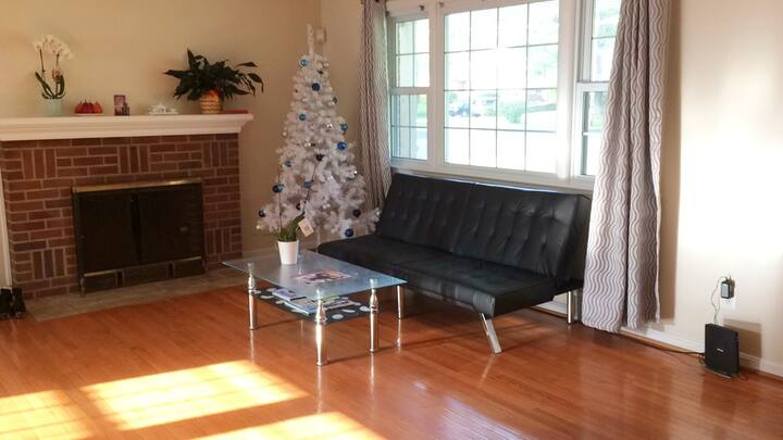 Private, beautiful room near DC, DCA, Tyson, NOVA