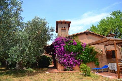 Ferienhaus mit Garten in Monte Argentario