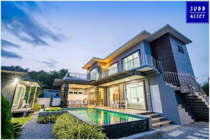 Poolvilla 5 Bedroom for 20 Persons   Huahin