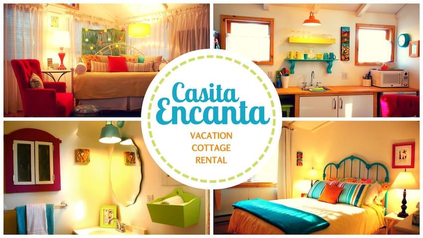 Casita Encanta: Sunny, Artsy Cabin - Patagònia - Casa