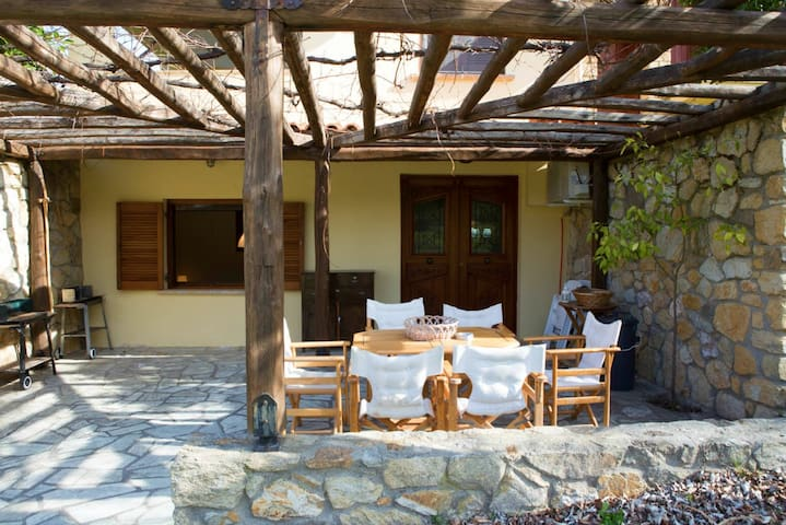 Hector - Beachfront Apartment - Ormos Panagias - Apartament