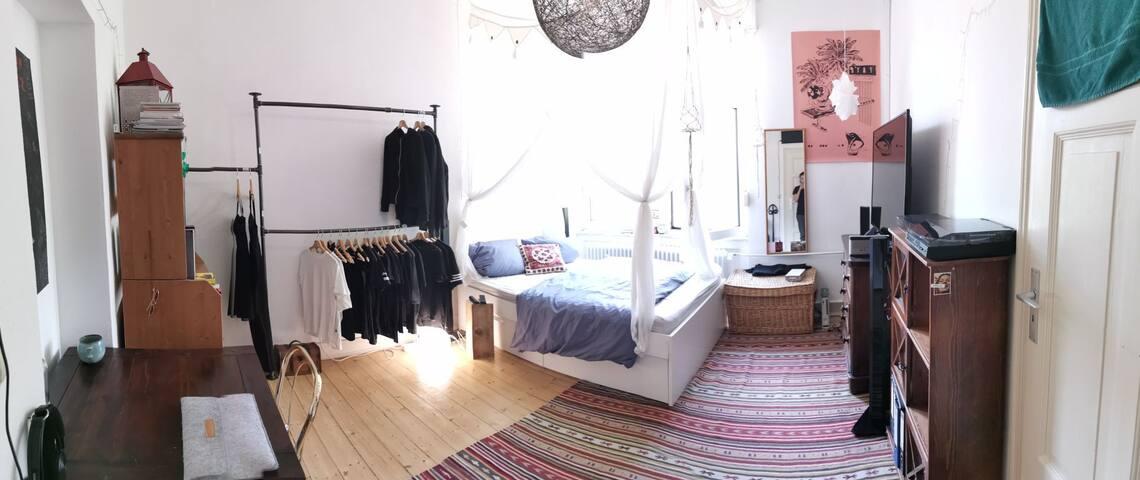 Gemütliches Zimmer nahe Frankfurt