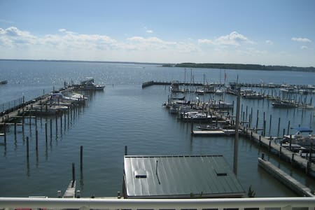 Bay front Condo with Rooftop Pool - Dewey Beach - Квартира