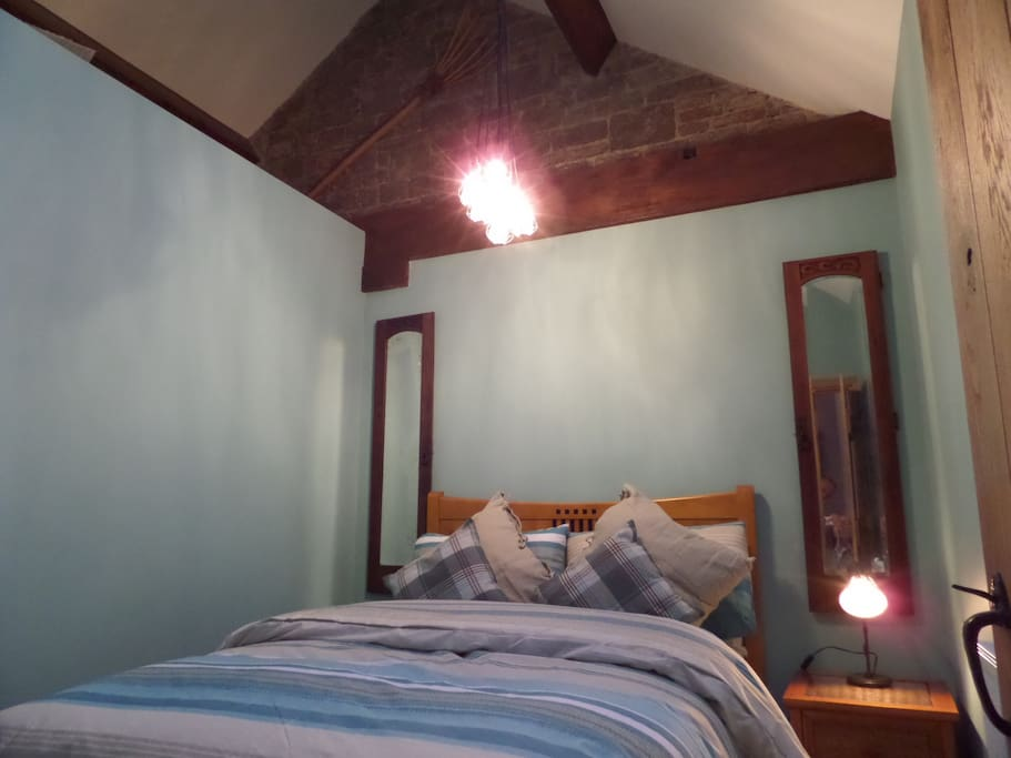 Double bedroom  Quirky old new design