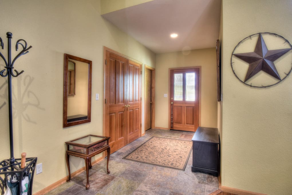Foyer of the home
