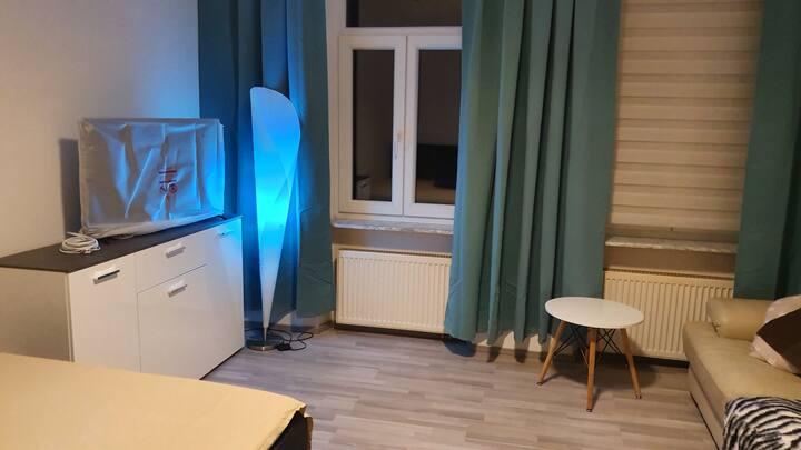 W4 1 Zimmer App. mitten in Nürnberg, 2 Gäste