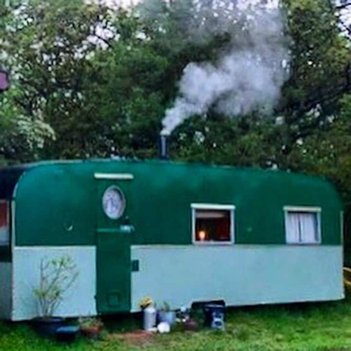 The Remedy Shed vintage 1950's caravan Whitby ❤️