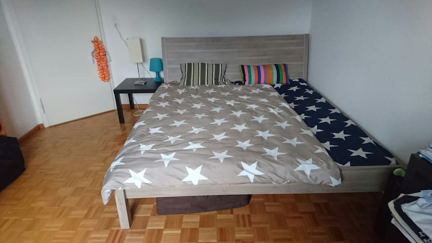 Room with Double bed near nature - Rüti - Apartment