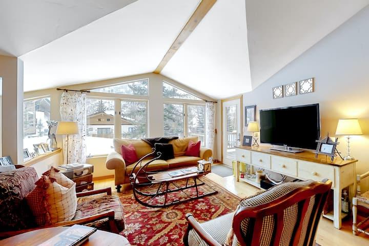 Ski-Cation Duplex w/ Free WiFi, a Wood-Burning Fireplace, & Mountain Views