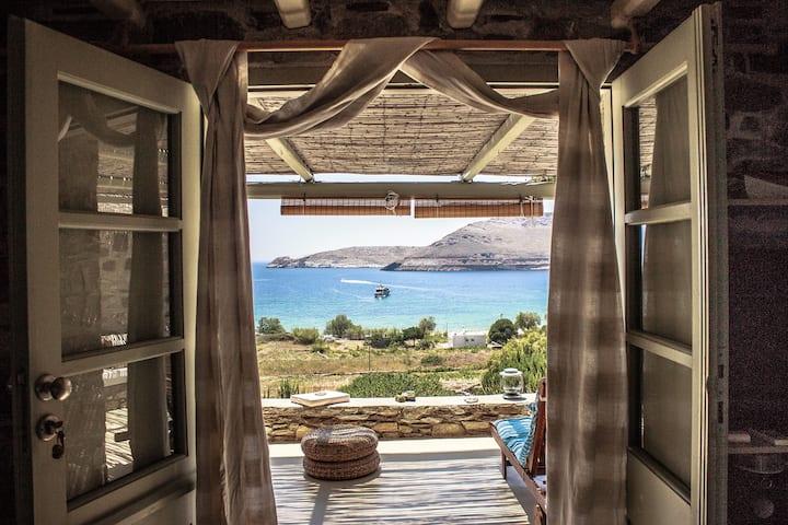 Serifos Dream house 2 near the sea Ganema