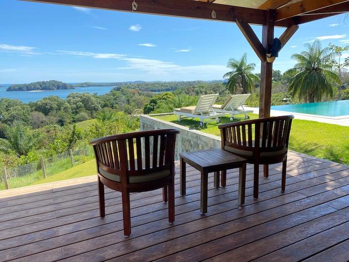 Stunning Ocean View Villa in Tropical Paradise