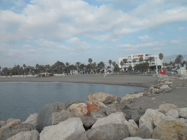 estudio en primera linea de playa - Torre del Mar - Loft